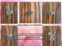 Flower Rings - C's Fashion Jewelry in Nellis AFB, Nevada