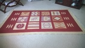 wool kilim  rug in Aurora, Illinois