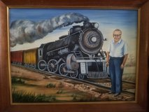 Vintage Canvas Painting with original signature in Fort Bragg, North Carolina