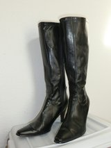 Women's Black Boots, heels in Ramstein, Germany