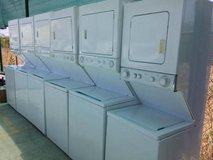 Stackable washer and dryer in Oceanside, California