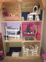 American Girl Dollhouse with furniture in Oswego, Illinois