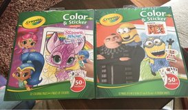 Color/Sticker Books in Joliet, Illinois