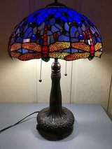 Stained Glass Dragonfly Table Lamp in Morris, Illinois