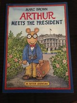 Arthur Meets the President book in Camp Lejeune, North Carolina