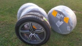 Pirelli Winter Tires with Foose Rims  size 245/45/R18 in Byron, Georgia