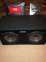 "2 12"" Speakers and 2 Amps in Fort Drum, New York"