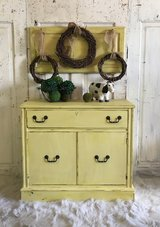 Vintage Server/Buffet-yellow in Kingwood, Texas