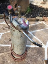 Turbo torch air acetylene with b-tank in Kingwood, Texas