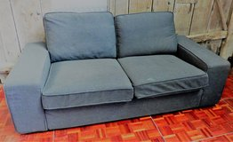 Black Two Seater Couch in Ramstein, Germany