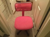 Pink desk chair in Naperville, Illinois