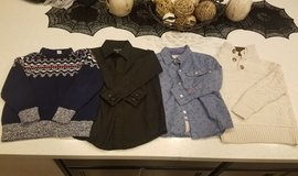 Boys Shirts & Sweaters - Great Condition! in Travis AFB, California