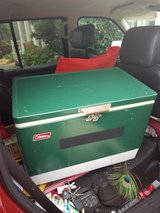 vtg Coleman metal cooler ice chest in Vacaville, California