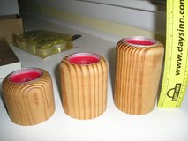 TEA CANDLES WITH WOODEN HOLDERS in Chicago, Illinois