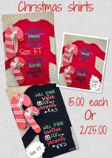 personalized christmas shirts in Baytown, Texas