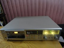 VINTAGE 1981 DUAL C 822 AUTO REVERSE SINGLE CASSETTE TAPE DECK in Travis AFB, California