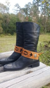 brown leather boot belts in Conroe, Texas