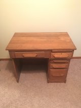 Antique Oak Desk in Fort Rucker, Alabama