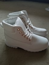 Brand New White Boots! in Spangdahlem, Germany
