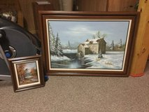 2 Oil Paintings in Oswego, Illinois
