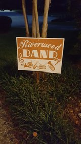 Riverwood Band sign in Houston, Texas
