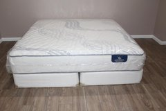 King Size mattress- Serta perfect Sleeper- Worley Model- Firm  FREE DELIVERY in Spring, Texas
