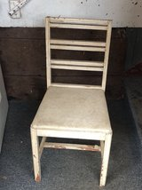 Vintage Ladder back chair in Chicago, Illinois