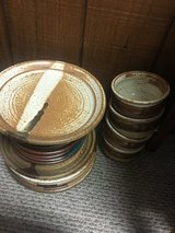 Set of Wheel Thrown Pottery Dishes in Ruidoso, New Mexico