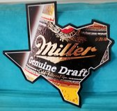 Miller Beer Sign -- New in Spring, Texas