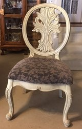 Carved-Back Chairs in Fort Polk, Louisiana