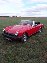 MG Midget , Classic Sports car in Spangdahlem, Germany