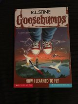 Goosebumps-How I Learned to Fly book in Camp Lejeune, North Carolina