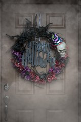 Spooky Handmade Halloween Wreath in Nellis AFB, Nevada