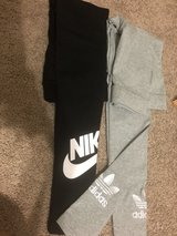 Nike and adidas leggings in Biloxi, Mississippi