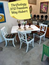signed ultra high end dining set in Camp Lejeune, North Carolina