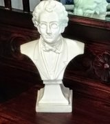 Composer Schubert bust made in Italy in Cherry Point, North Carolina