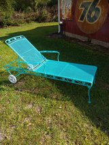 vintage wrought iron chaise in Cherry Point, North Carolina
