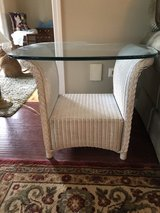 Lloyd Flanders All Weather Wicker End Table in Chicago, Illinois