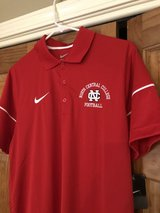 New North Central College Nike Dri-Fit Red Football Shirt - Size Men's Medium (fits like a small) in Glendale Heights, Illinois
