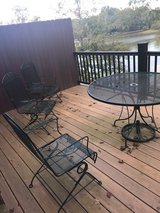 Patio Furniture Set/with Cushions/Umbrella in Fort Campbell, Kentucky