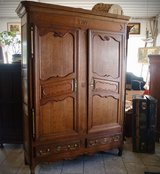 200 year old armoire from the Lorraine region in France in Ansbach, Germany