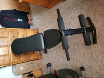 New workout bench in Yorkville, Illinois