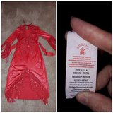 Childrens Halloween red dress costume in Travis AFB, California