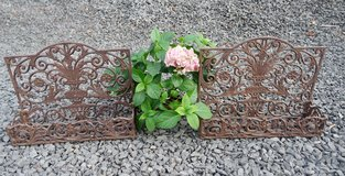 set of 2 wrought iron plant holders in Spangdahlem, Germany