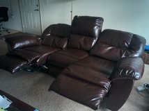 Brown Couch in Fort Lewis, Washington