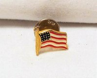 USA Military Tie Tack Pin Lapel Army Navy Marine America Patriotic Government in Kingwood, Texas