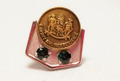 Liberty Independence Gem Stone Pin Lapel Tie Tack Government Military America in Kingwood, Texas