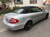 Mercedes CLK 320 convertible US in Ansbach, Germany