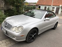 Mercedes clk 320 US in Hohenfels, Germany