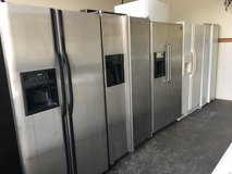 Side by Side Refrigerators in Oceanside, California